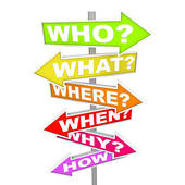 Customer service- Who, When, Where, Why, How,